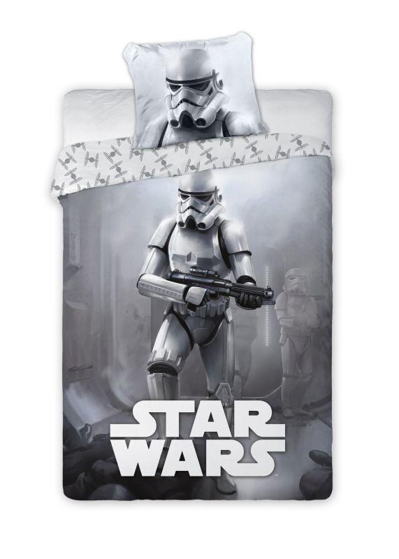 FARO Obliečky Star Wars grey  Bavlna, 140/200, 70/90 cm