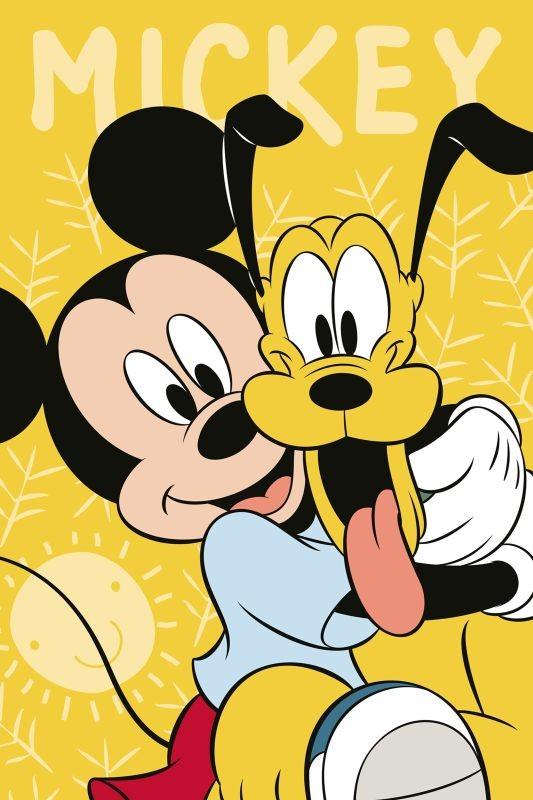 Detský uterák Mickey a Pluto 60/40