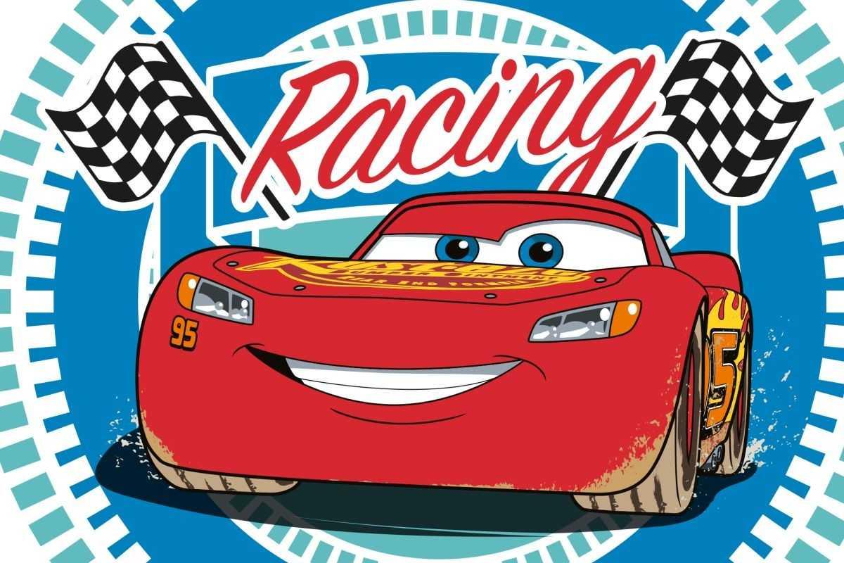 Detský uterák Cars Racing 60/40
