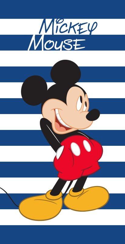 Osuška Mickey prúžky 70/140