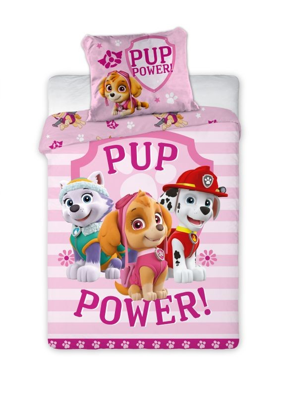 Obliečky do postieľky Paw Patrol Pup Power 100/135, 40/60