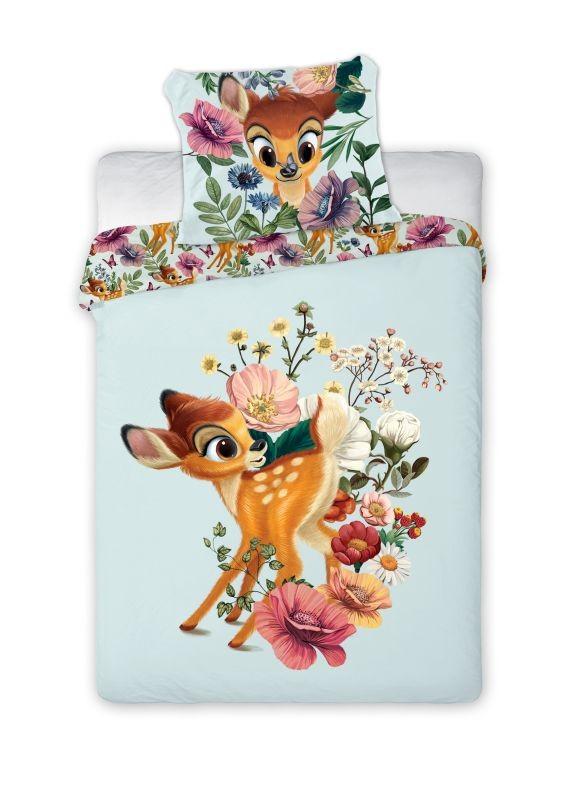 FARO Obliečky do postieľky Bambi  Bavlna, 100/135, 40/60 cm