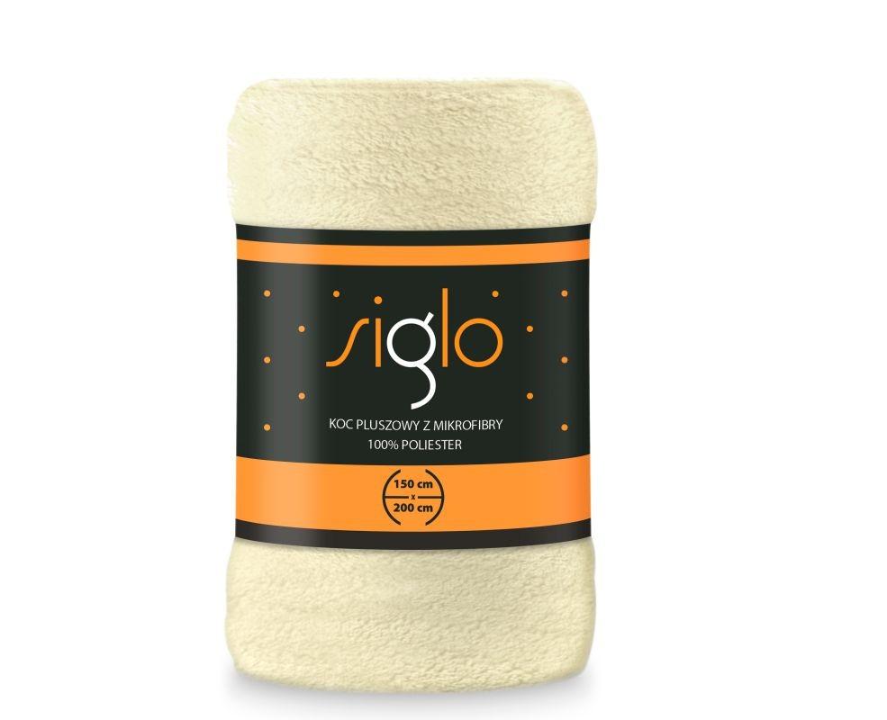 FARO Deka mikroplyš super soft smotanová  Polyester, 150/200 cm