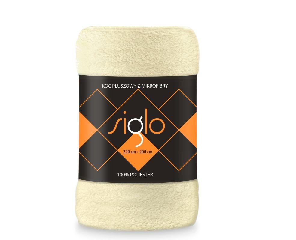 FARO Deka mikroplyš super soft smotanová  Polyester, 220/200 cm