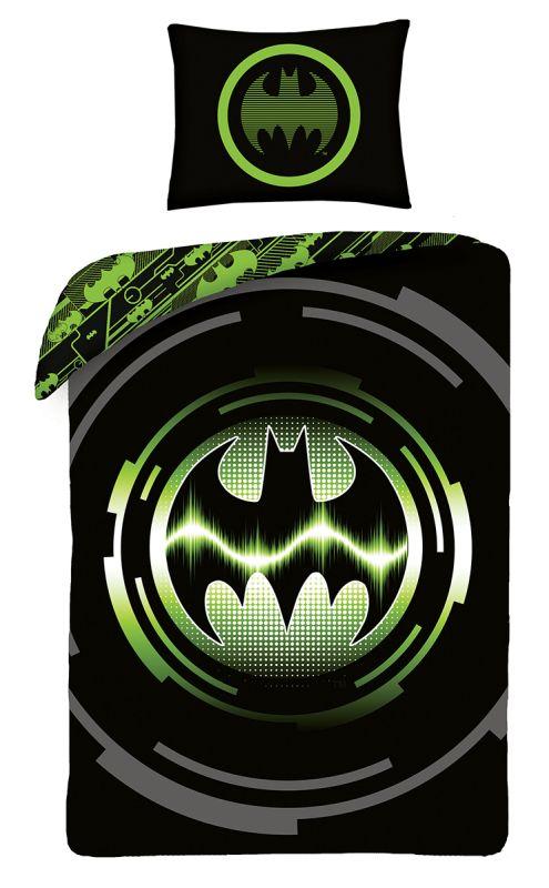 HALANTEX Obliečky Batman green  Bavlna, 140/200, 70/90 cm
