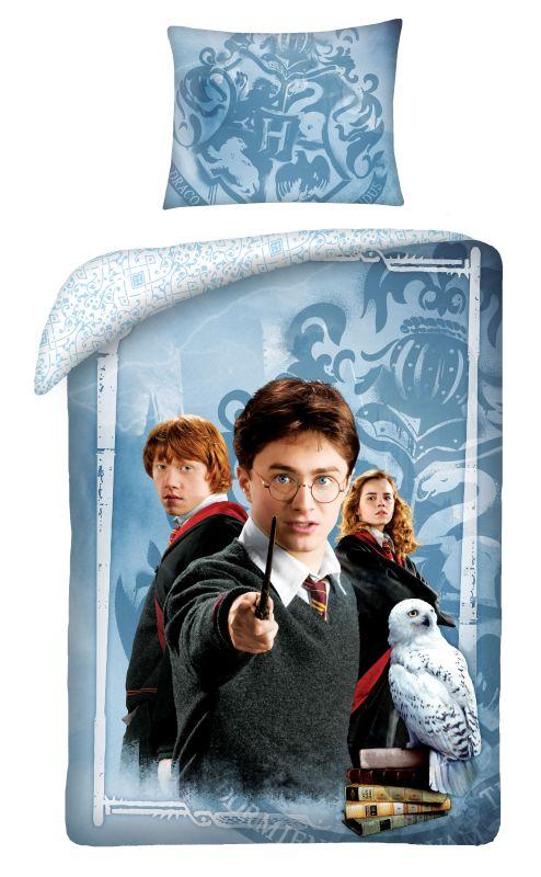 HALANTEX Obliečky Harry Potter friends  Bavlna, 140/200, 70/90 cm