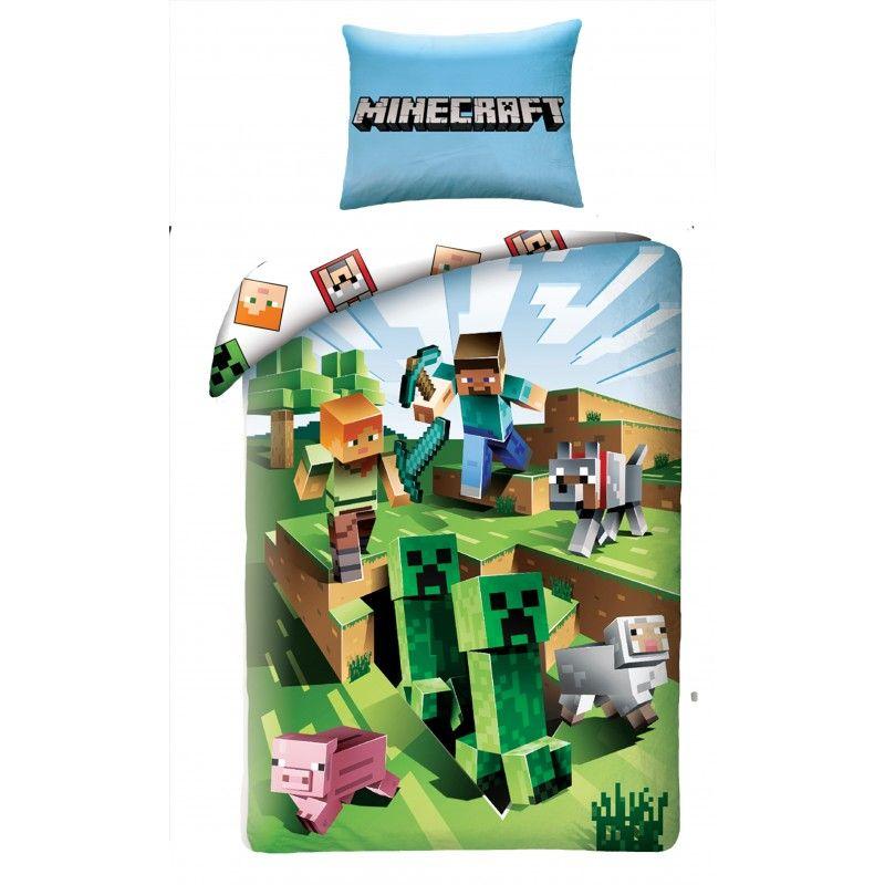 Obliečky Minecraft Farma 140/200, 70/90