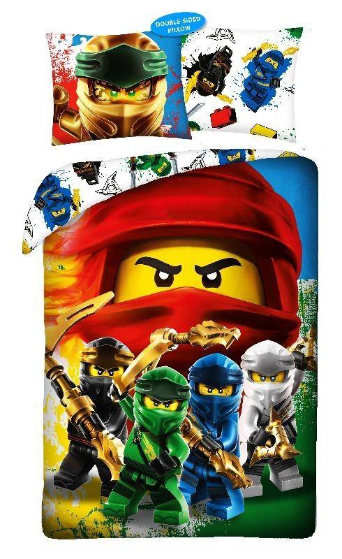 HALANTEX Obliečky Lego Ninjago  Bavlna, 140/200, 70/90 cm