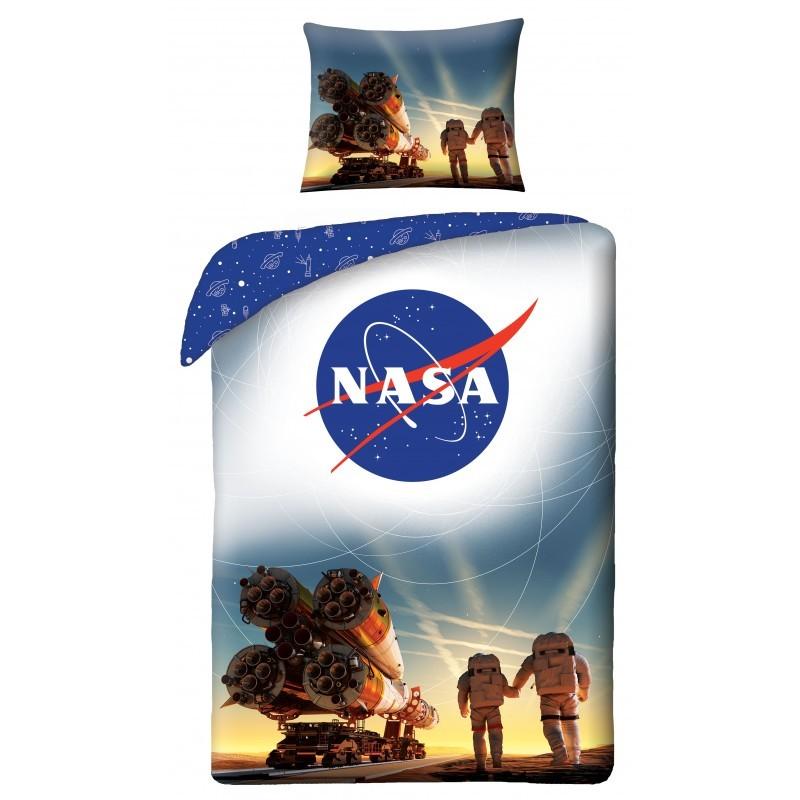 HALANTEX Obliečky NASA raketa  Bavlna, 140/200, 70/90 cm