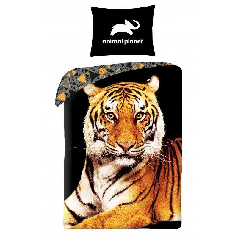 HALANTEX Obliečky Animal Planet Tiger  Bavlna, 140/200, 70/90 cm