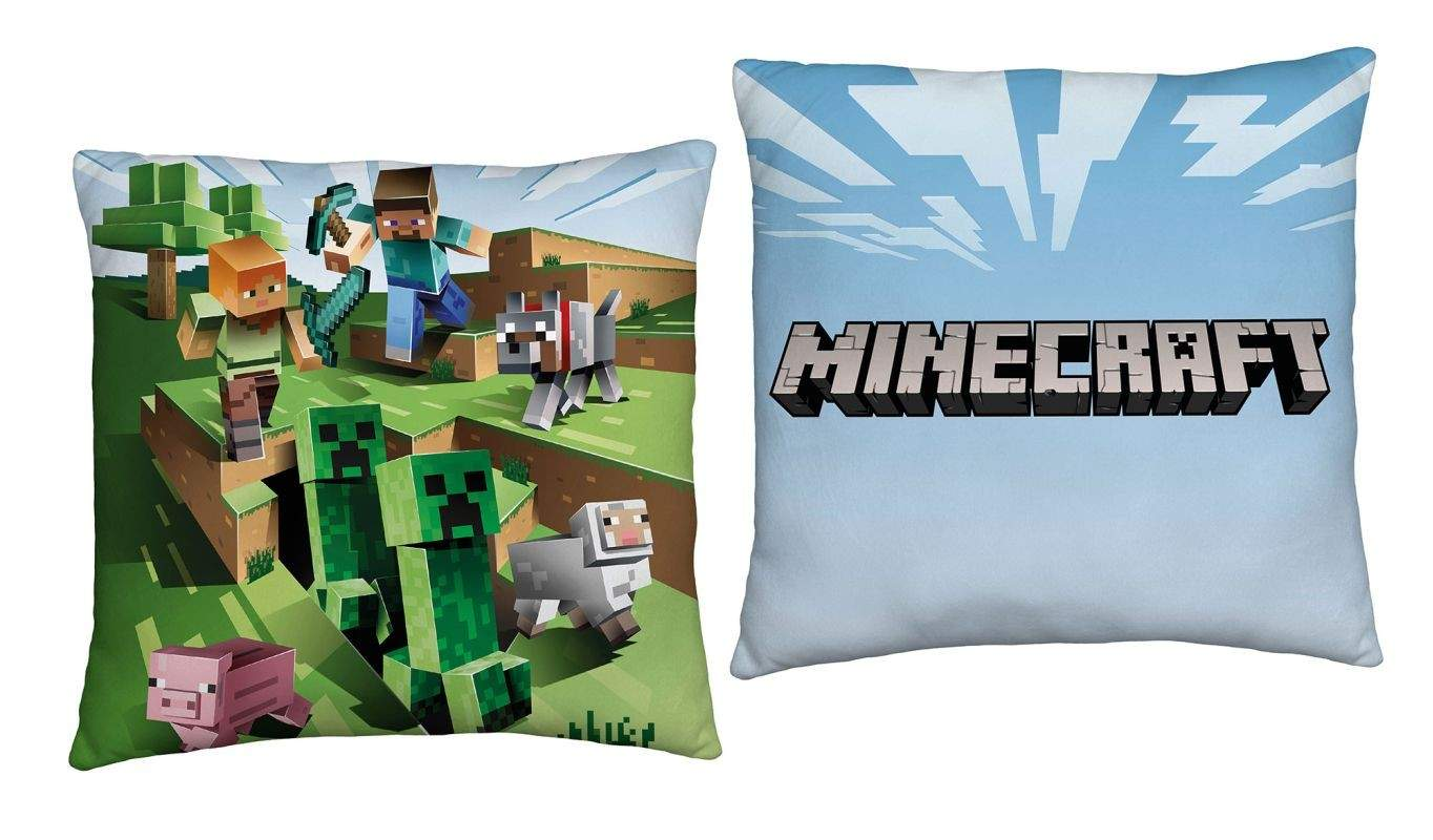 HALANTEX Vankúšik Minecraft Farma  Polyester, 40/40 cm