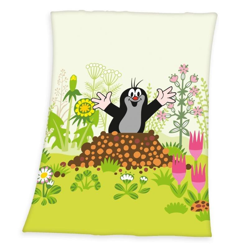 HERDING Soft fleece deka Krtko  Polyester, 75/100 cm