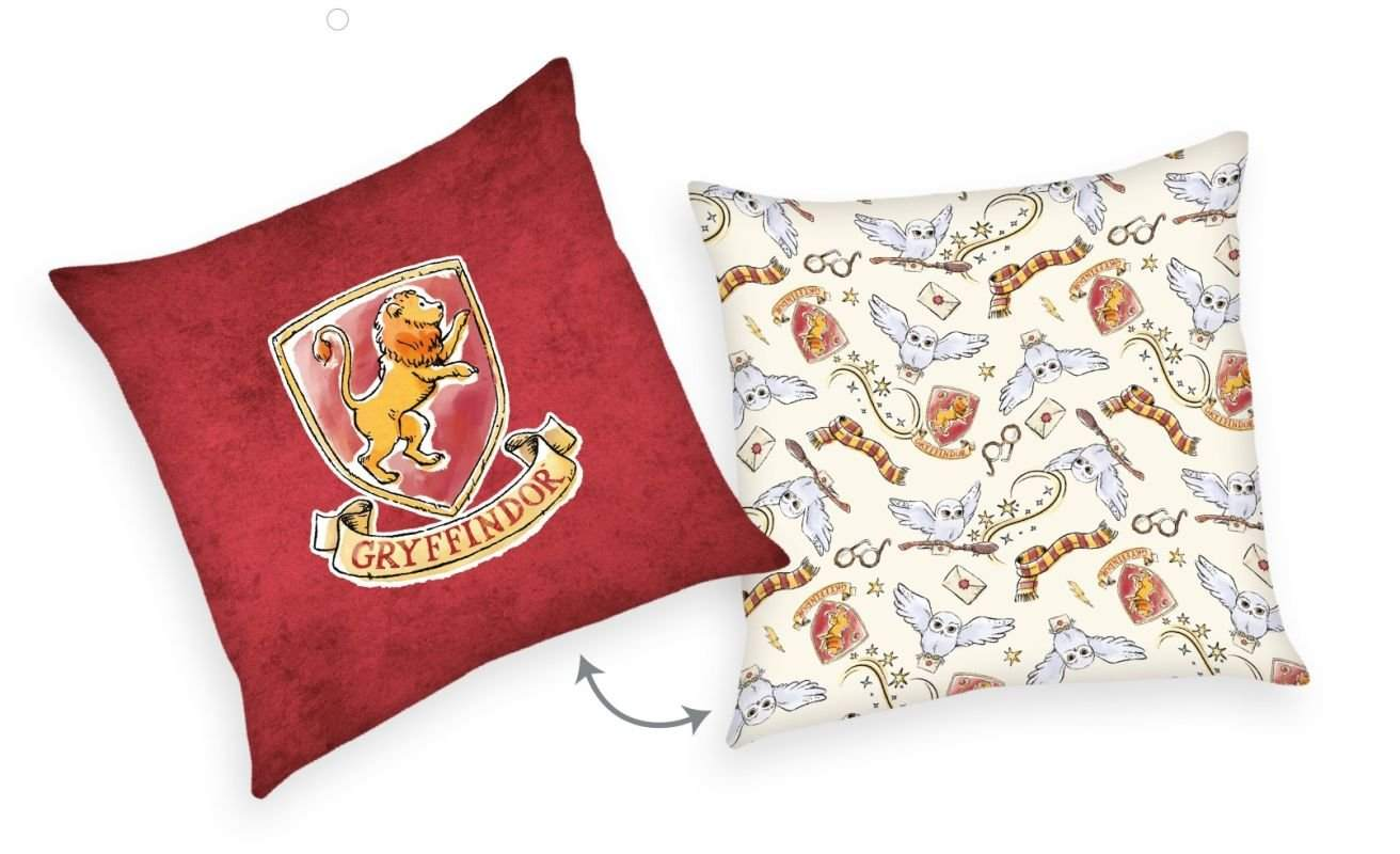 HERDING Vankúšik Harry Potter burgund  Polyester, 40/40 cm