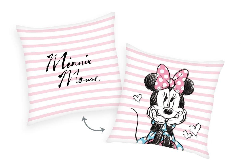 HERDING Vankúšik Minnie prúžky  Polyester, 40/40 cm