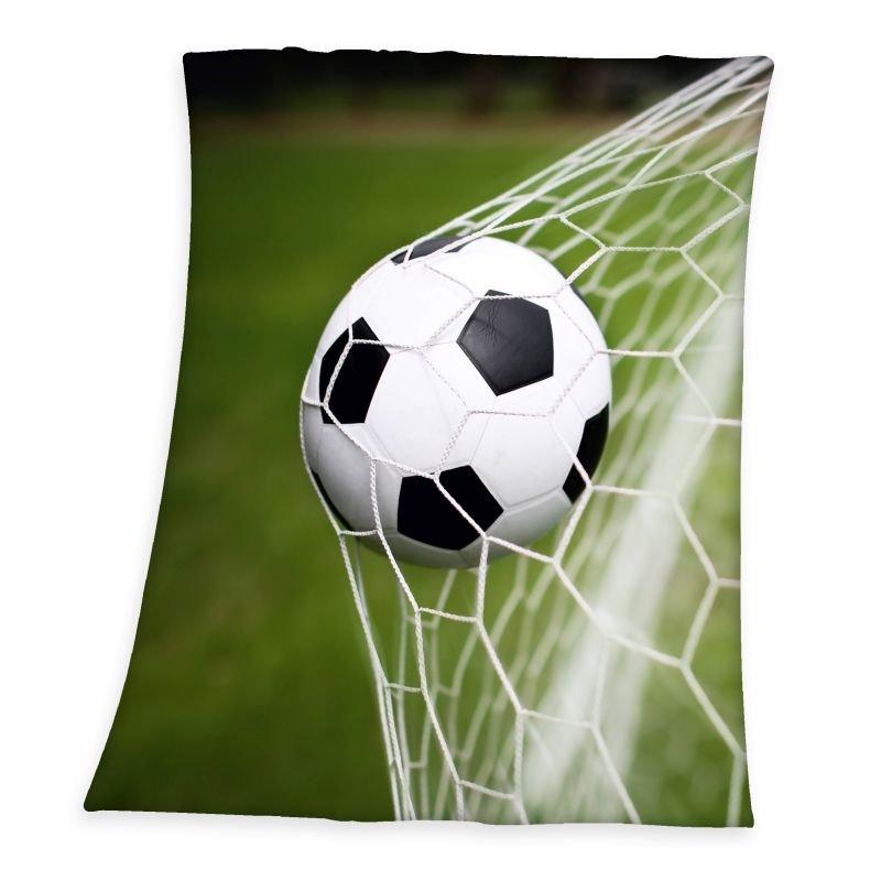 Fleece deka Fotbal 130/160