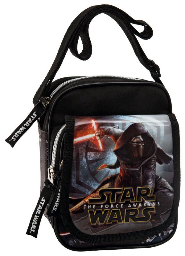 Taška cez plece s vreckom Star Wars VII Black