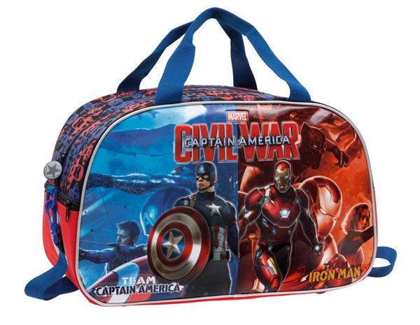Športová taška Kapitán Amerika 45 cm
