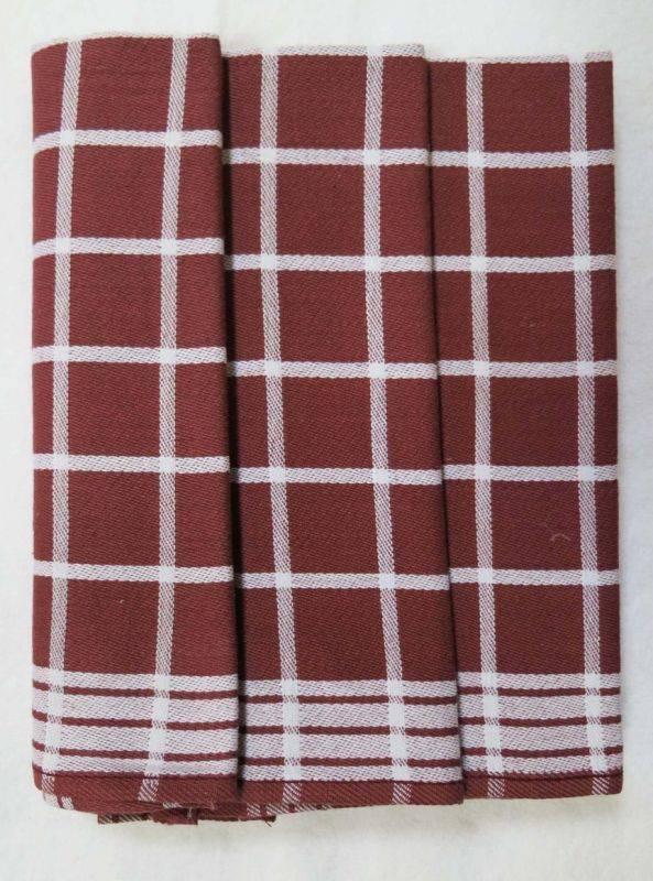 Polášek Kuchynské utierky z Egyptskej bavlny 3 ks vzor č.4 Bavlna