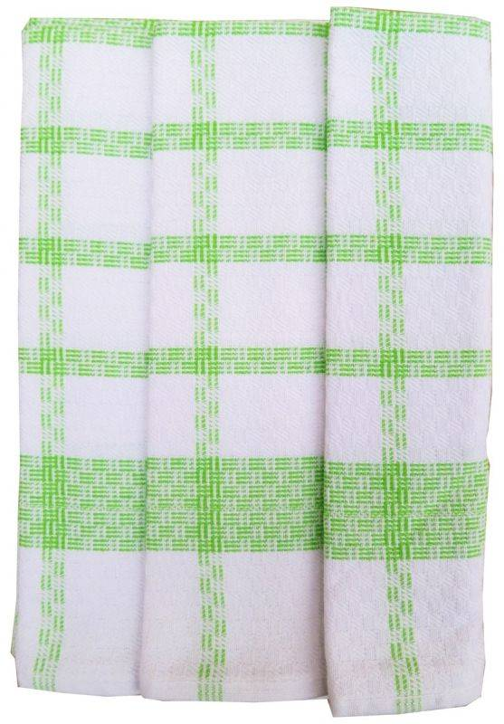 Polášek Kuchynské utierky z Egyptskej bavlny 3 ks vzor č.51 Bavlna