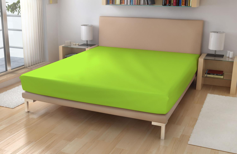 Froté plachta EXKLUSIVE Neonovo zelená 180/200