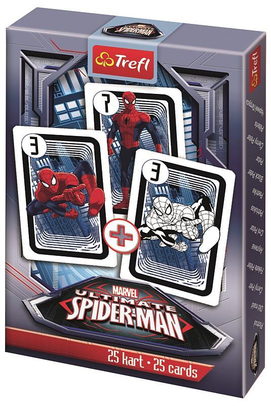 TREFL Čierny Peter Spiderman papír, 9x6x1 cm