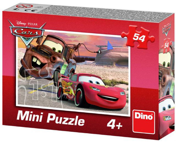 DINO Puzzle Cars Auta Blesk a Mater 54 dielov