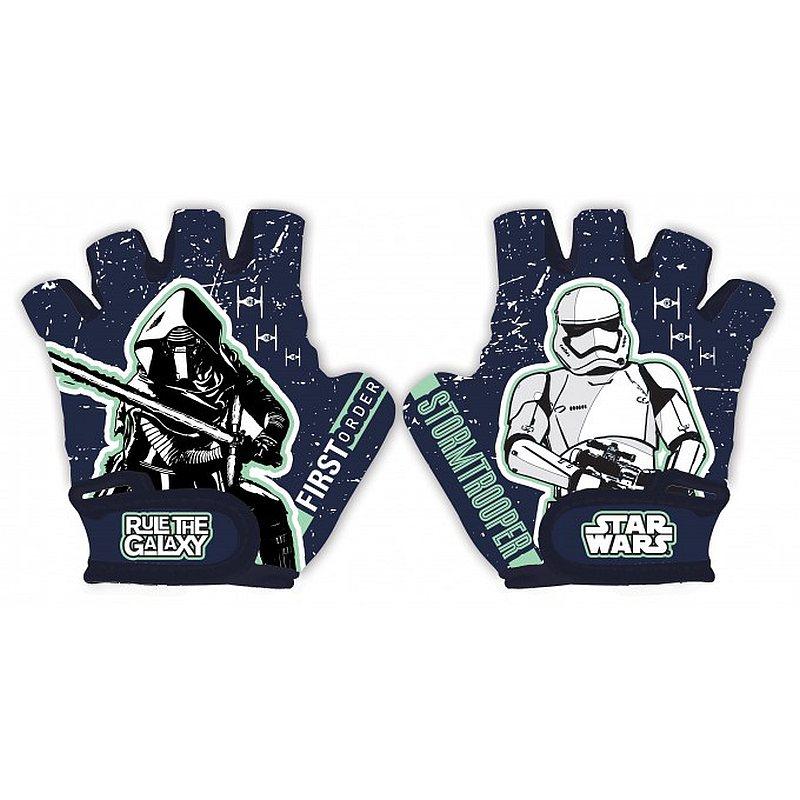 SEVEN Rukavice na bicykel Star Wars Stormtrooper 70% polyester, 30% elastan, UNI 5 odpovídá 3 - 9 let