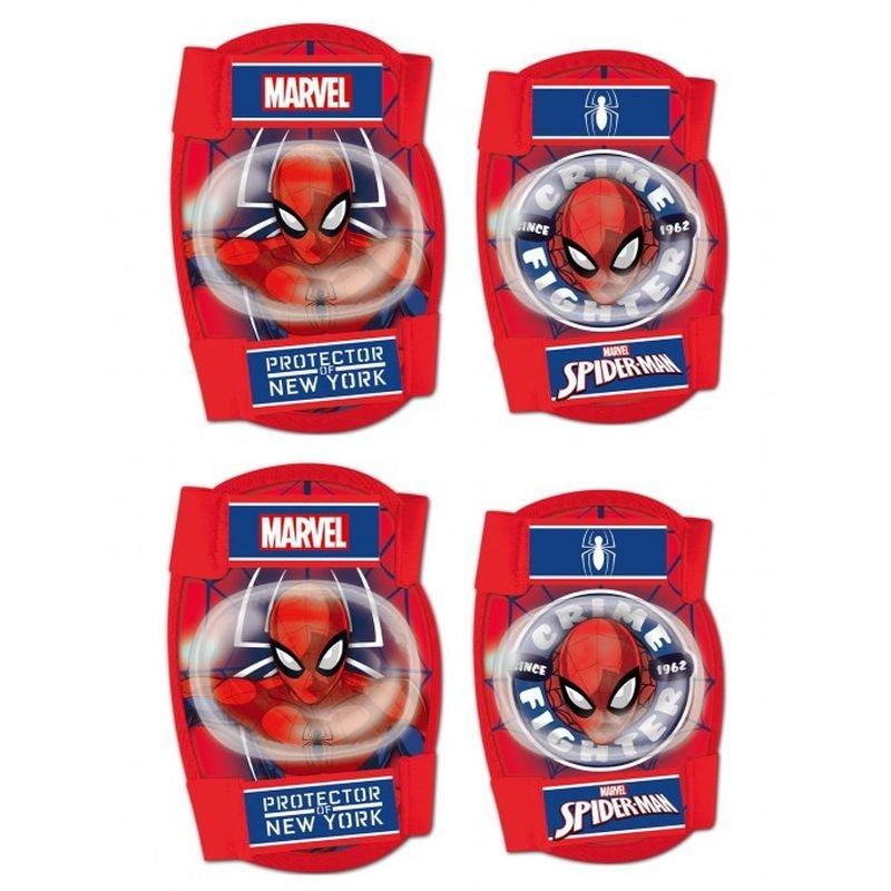 Chrániče kolien a lakťov Spiderman