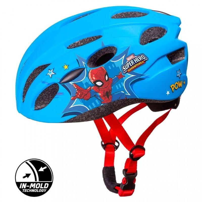 SEVEN Detská cyklo prilba in mold Spiderman , vel. M, 52-56 cm