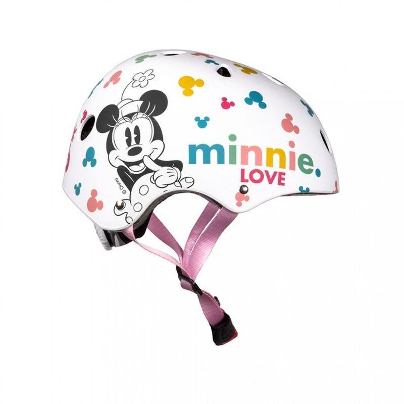 Freestyle detská prilba Minnie biela