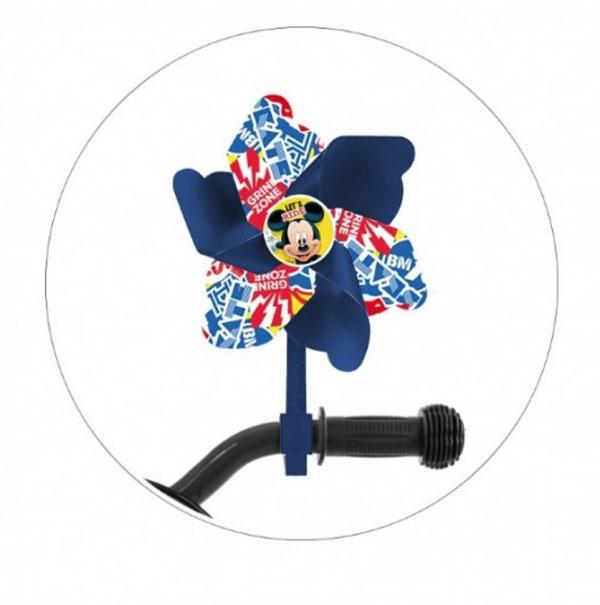 Veterník na detský bicykel Mickey Mouse