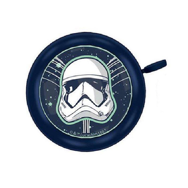 SEVEN Zvonček na bicykel Star Wars Stormtrooper Kov, Plast, průměr 5 cm