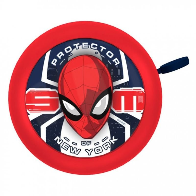 Zvonček na bicykel Spiderman