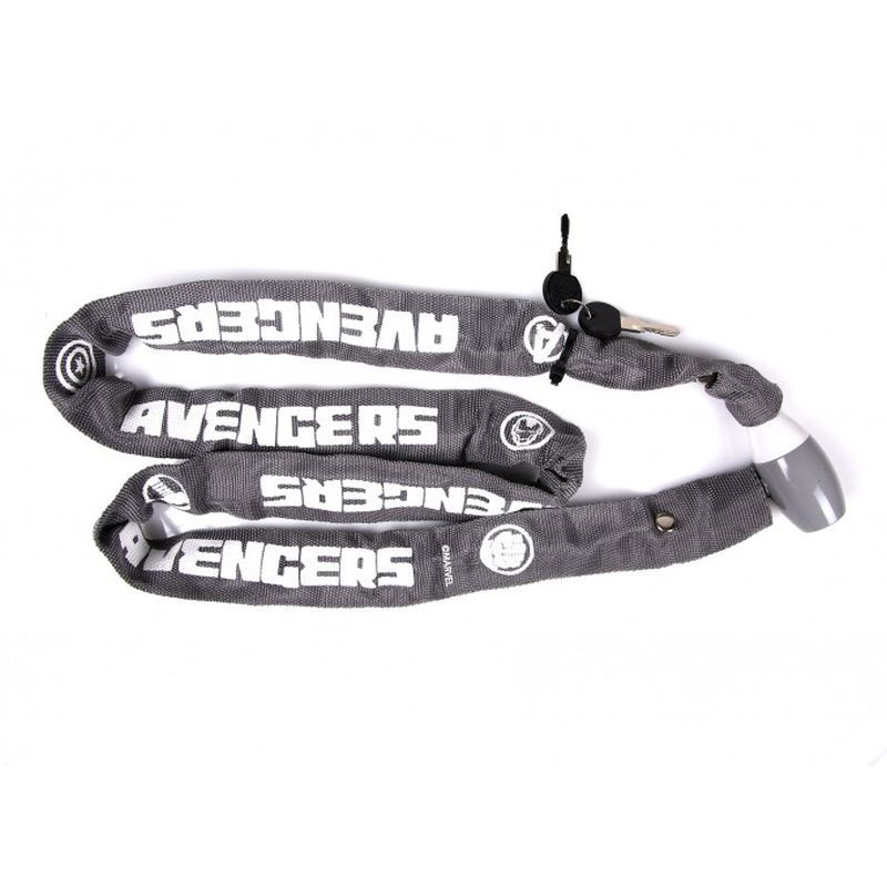 SEVEN Zámok na bicykel reťazový Avengers ,