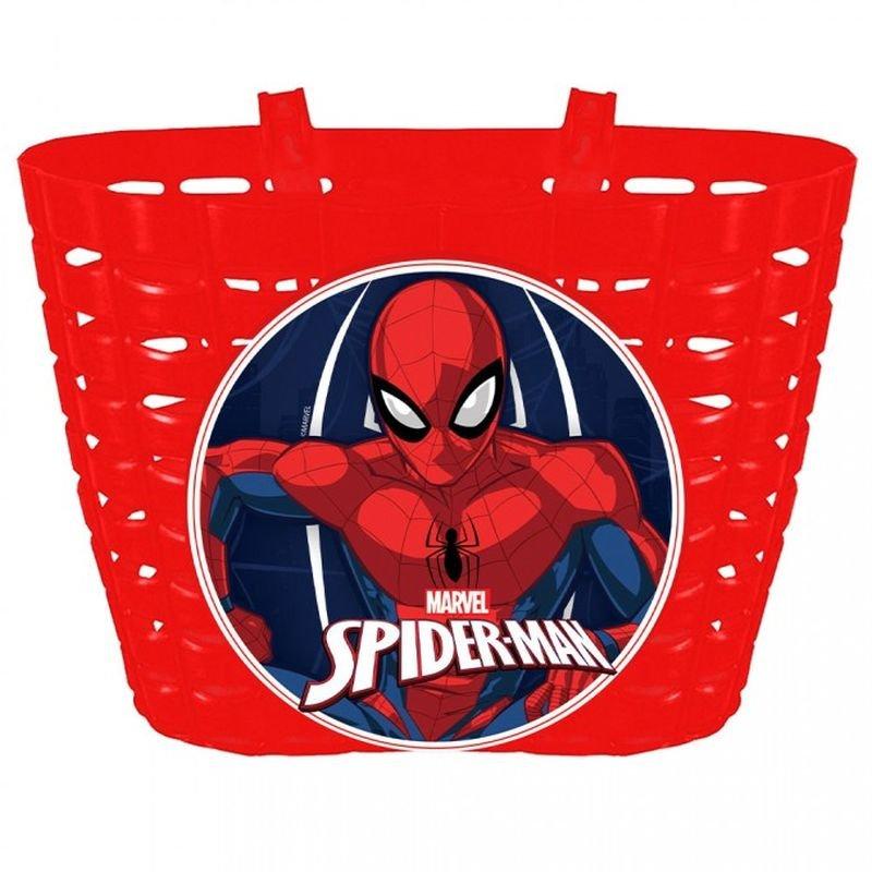 Košík na bicykel Spiderman
