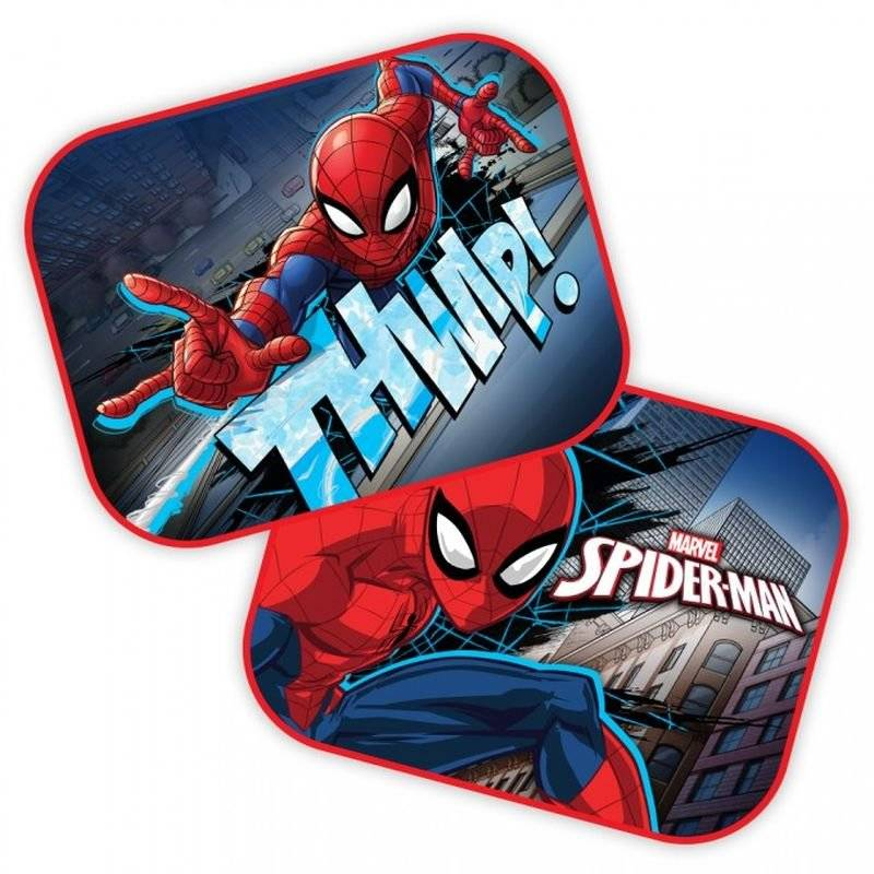 Slnečná clona Spiderman 2ks