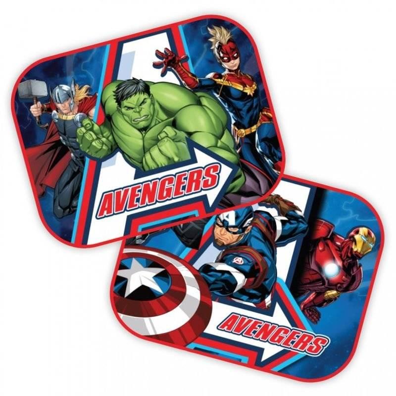 Slnečná clona Avengers 2ks