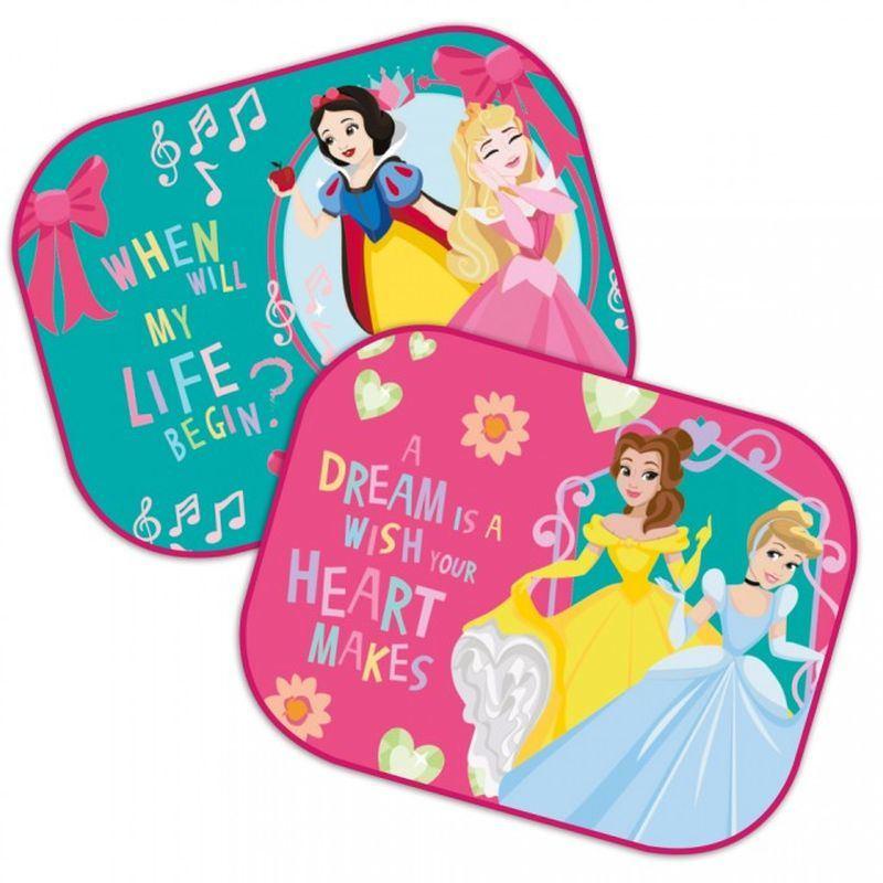 Slnečná clona Princezny Heart 2 ks