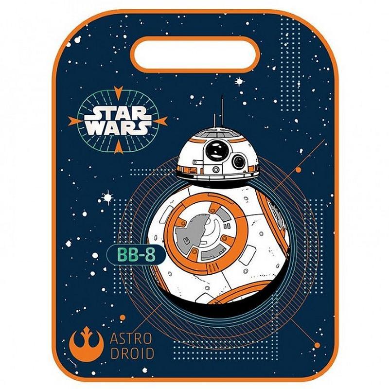 SEVEN Ochrana predného sedadla Star Wars BB- PVC, 8 cm