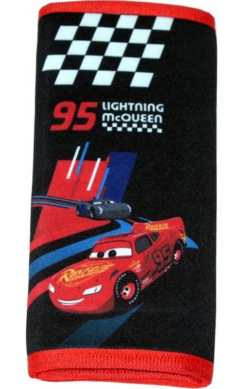 SEVEN Poťah bezpečnostného pásu Cars  polyester, 3 cm