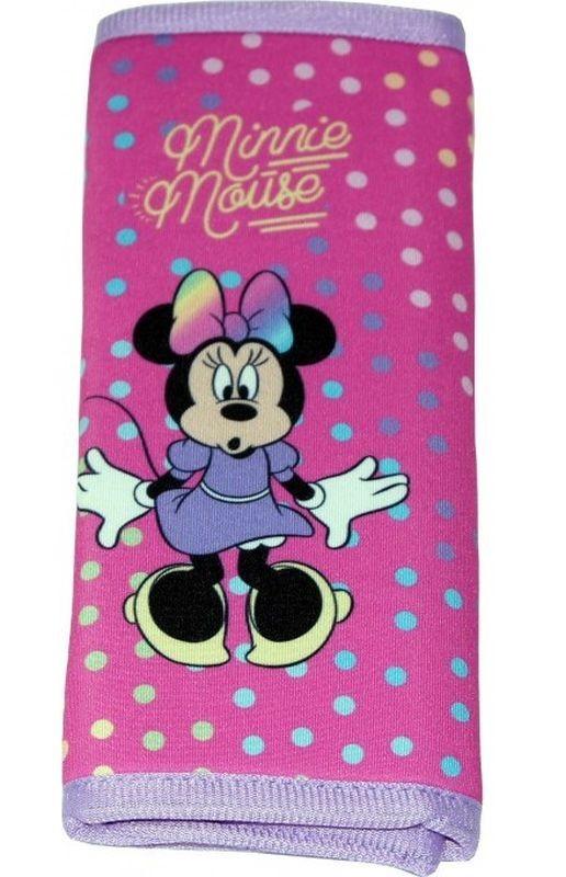 SEVEN Poťah bezpečnostného pásu Minnie bodky polyester, 1x 9x18 cm