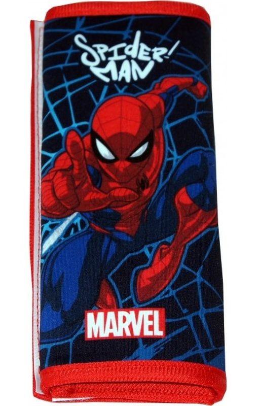 SEVEN Poťah bezpečnostného pásu Spiderman polyester, 1x 9x18 cm
