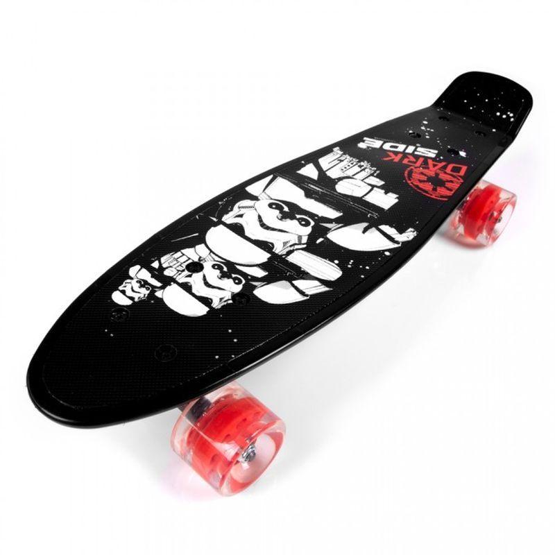SEVEN Skateboard fishboard Star Wars PP tvrzený polypropylen, 1x 55x14,5x9,5 cm