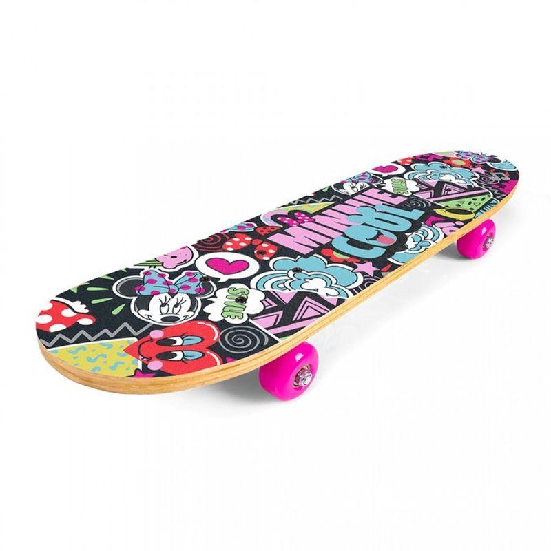 SEVEN Skateboard drevený Minnie 9 vrstvý čínský javor, 1x 61x15x8 cm