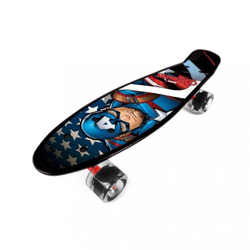 Skateboard fishboard Avengers Kapitán Amerika