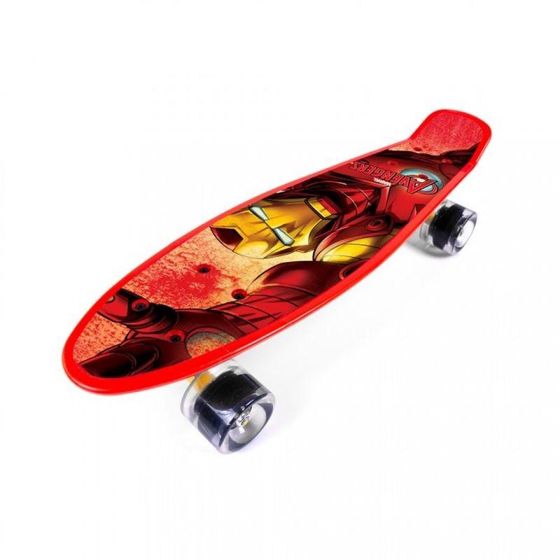 Skateboard fishboard Avengers Iron Man