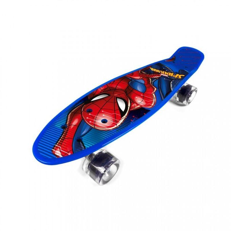 Skateboard fishboard Spiderman