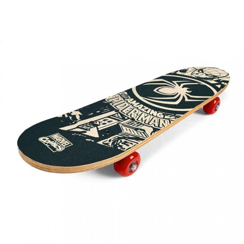 SEVEN Skateboard drevený Spiderman 9 vrstvý čínský javor, 1x 61x15x8 cm