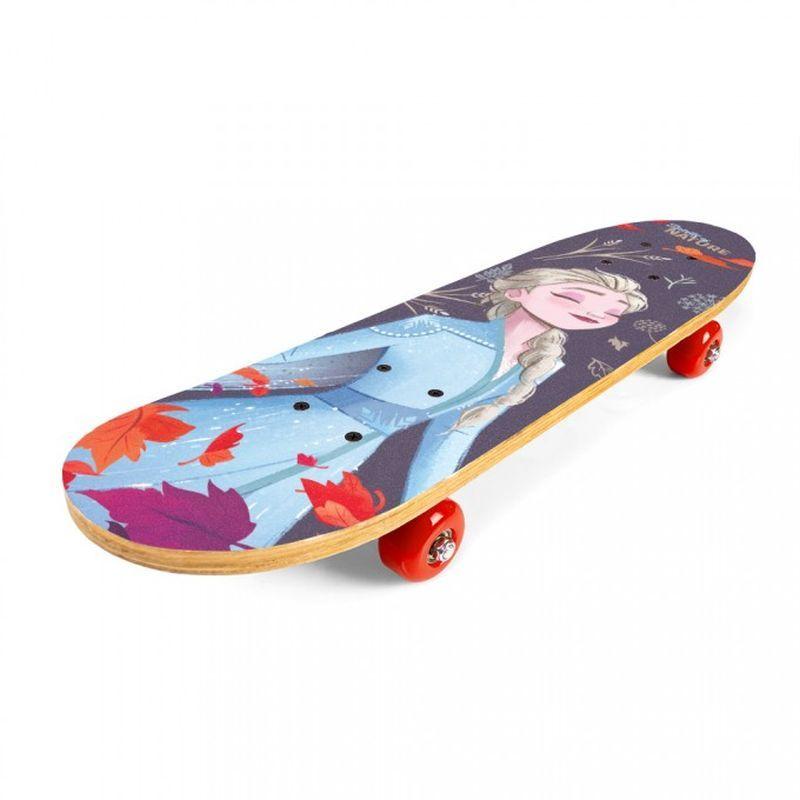 SEVEN Skateboard drevený Ľadové Kráľovstvo 2  9 vrstvý čínskýjavor, 1x 61x15x8 cm