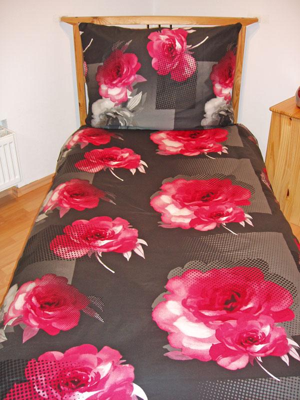 Obliečky bavlnený satén Royal pink 140/200, 70/90